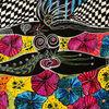 Pink, Psychedelisch, Ballett, Acrylmalerei