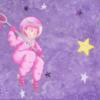 Concept art, Krita, Illustration, Astronautin
