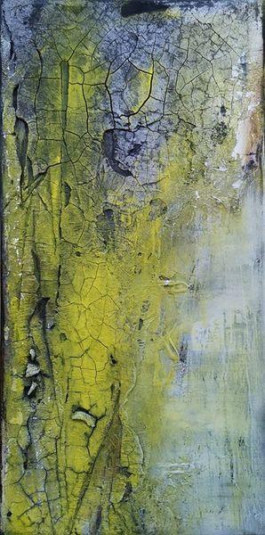 Wald, Gemälde, Stein, Ölmalerei, Moderne kunst, Abstrakte malerei