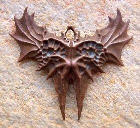 Bronze, Seele, Surreal, Figural, Einsamkeit, Plastik