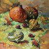 Kürbisse, Gelb, Herbst, Licht