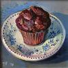 Muffin, Kuchen, Schokolade, Montagskuchen