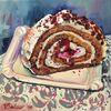 Kuchen, Süßigkeit, Stillleben, Montagskuchen