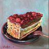 Himbeere, Torte, Montagskuchen, Kuchen