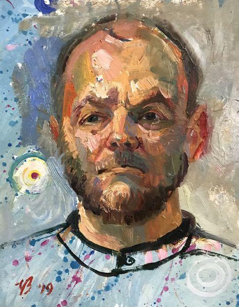 Portrait, Mann, Menschen, Malerei