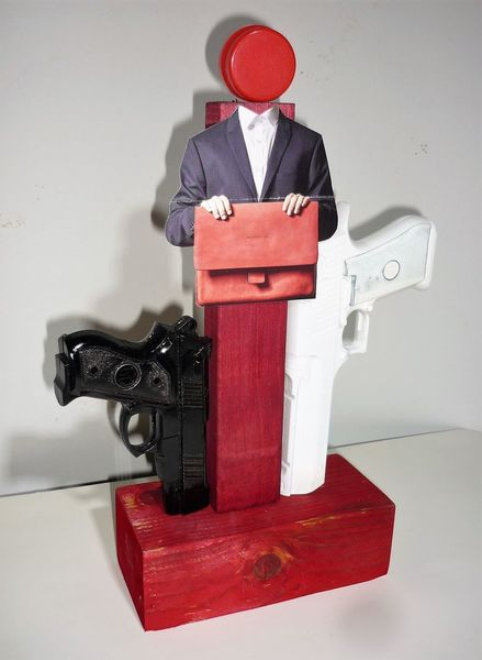 Ironie, Montage, Assemblage, Figural, Plastik