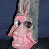 Figural, Ton, Gesicht, Skulptur