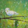 Vogel, Acrylmalerei, Abstrakt, Vereinfachen