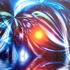 Lichtpunkte, Fantasie, Modern, Abstrakt