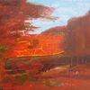 Acrylmalerei, Landschaft, Malerei,