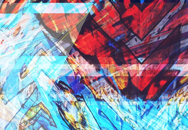Bschoeni, Graffiti, Abstrakt, Digitale kunst