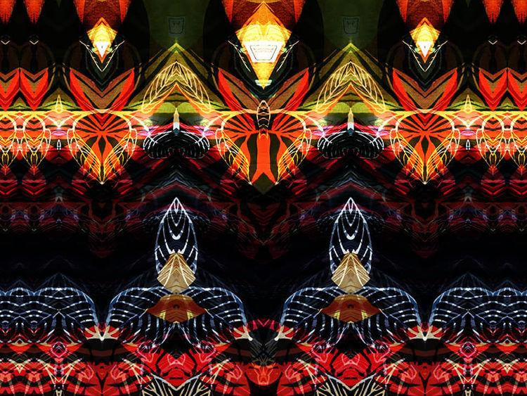 Bschoeni, Rot schwarz, Graffiti, Abstrakt, Blumen, Digitale kunst