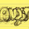Worte, Angst, Nebenbeigekritzel, Illustrationen