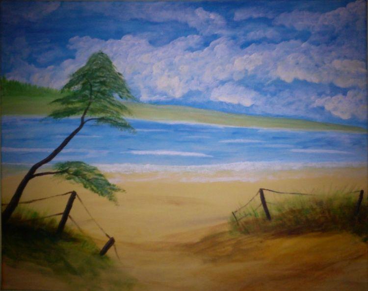 Dünen, Wasser, Meer, Natur, Landschaft, See