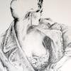 Zeichnung, Shirt, Mädchen, Frau