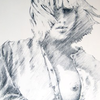 Bluse, Mädchen, Portrait, Shirt