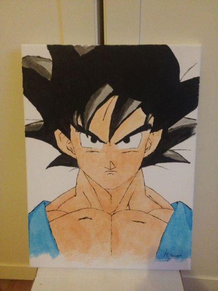 Manga, Malerei, Acrylmalerei, Otaku, Anime, Dragonball