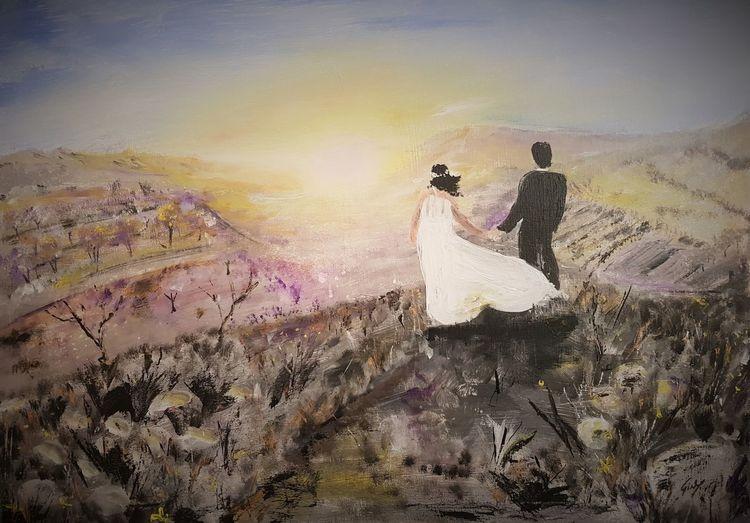 Malerei, Liebe, Natur, Surreal