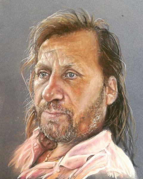 Portrait, Zeichnung, Pastellmalerei, Zeichnungen