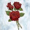 Liebe, Rose, Rot, Blumen