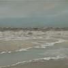 Landschaftsmalerei, Gischt, Langeoog, Meer