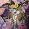 Blumenstrauß, Glockenreben, Blüte, Stillleben