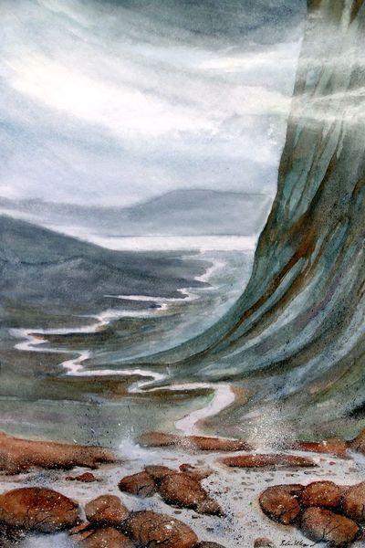 Aquarellmalerei, Schottland, Applecross, Aquarell,