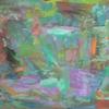 Abstrakte malerei, Abstrakter expressionismus, Bunt, Wild