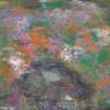Abstrakt, Grün orange, Abstrakte malerei, Abstrakter expressionismus