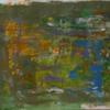 Abstrakte malerei, Tünchen, Grün, Malerei
