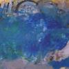 Informel, Tantalus, Abstrake malerei, Blau