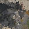 Wild, Abstrakte malerei, Büttenpapier, Düster