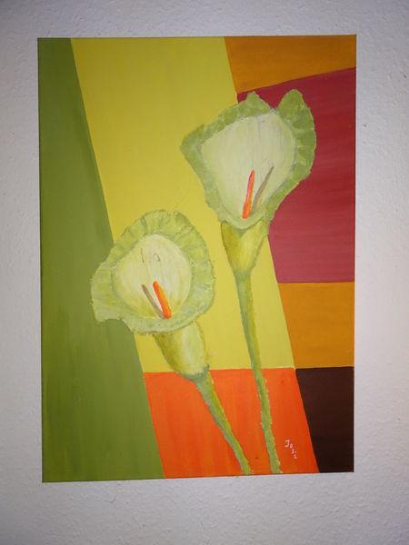 Pflanzen, Malerei, Abstrakt, Zeichnung