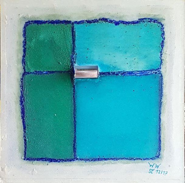 Glas, Blau, Frisch, Glaskörper, Kühl, Malerei
