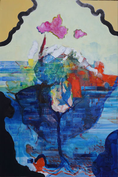 Welt, Wolken, Meer, Malerei