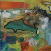 Bunt, Abstrakt, Delfin, Malerei