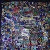 Collage, Farben, Bunt, Mischtechnik