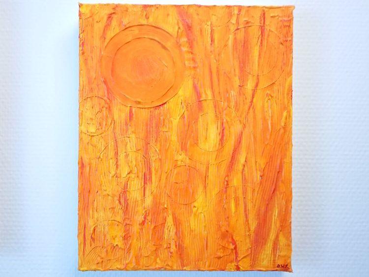Acrylmalerei, Kunstwerk, Abstrakt, Farben, Malen, Seele