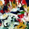 Bunt, Sommer, Abstrakt, Malerei