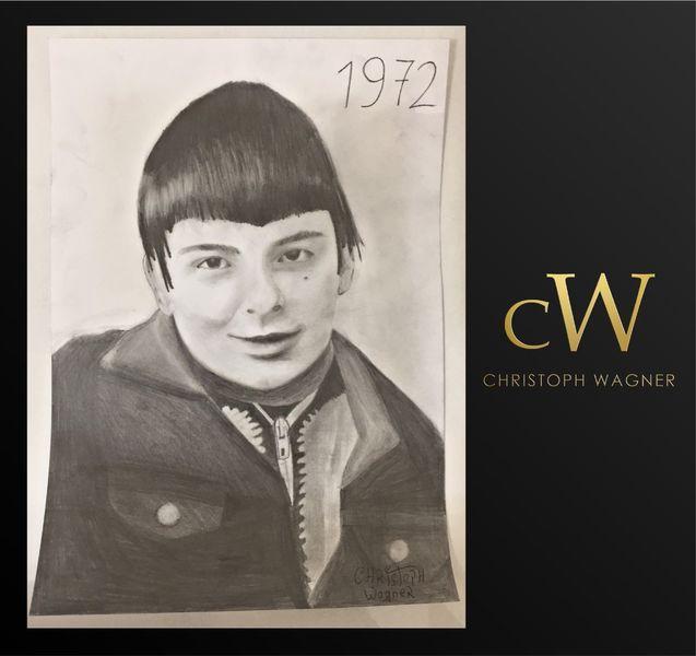 Bleistiftzeichnung, Weiß, Modern, Schwarz, Malerei, Portrait