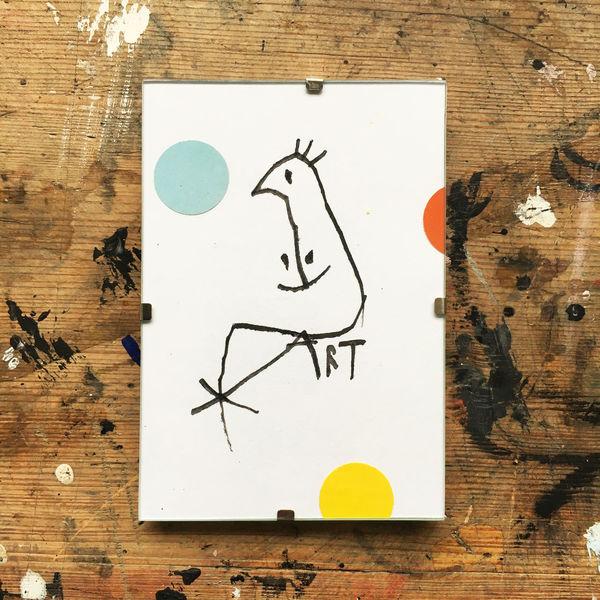 Löchle, Portrait, Zeichnungen,