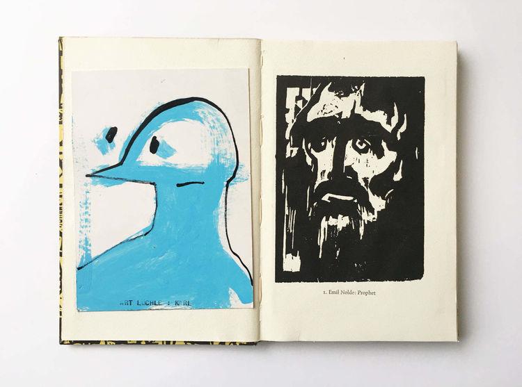 Prophetie, Emil nolde, Zeichnungen,