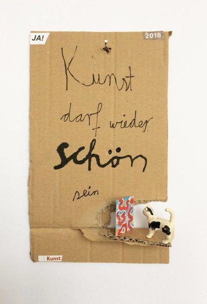 Schön, Yes, Mischtechnik,
