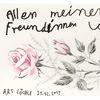 Freunde, Freundin, Zeichnungen,