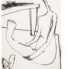 Zeichnung, Akt, Studie, Zeichnungen