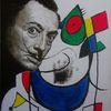 Dalí, Treffen, Malerei,