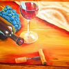 Flasche, Kork, Wein, Glas