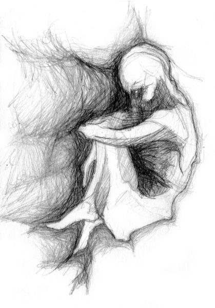 Phobie, Übel, Depression, Halluzination, Sorge, Eingesperrt