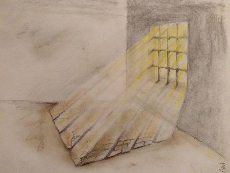 Knast, Gefängnis, Freiheit, Zeichnungen