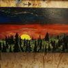 Landschaft, Farben, Licht, Malerei